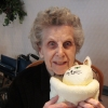 Bernice loved her Cream Colored Twiddle Cat