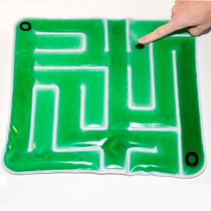 iGel-Maze with Ball - sensory stimulation for Alzheimer's patients works also for anyone with a developmental disability.