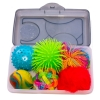 Box of Balls sensory activity for people with dementia including Alzheimer's disease