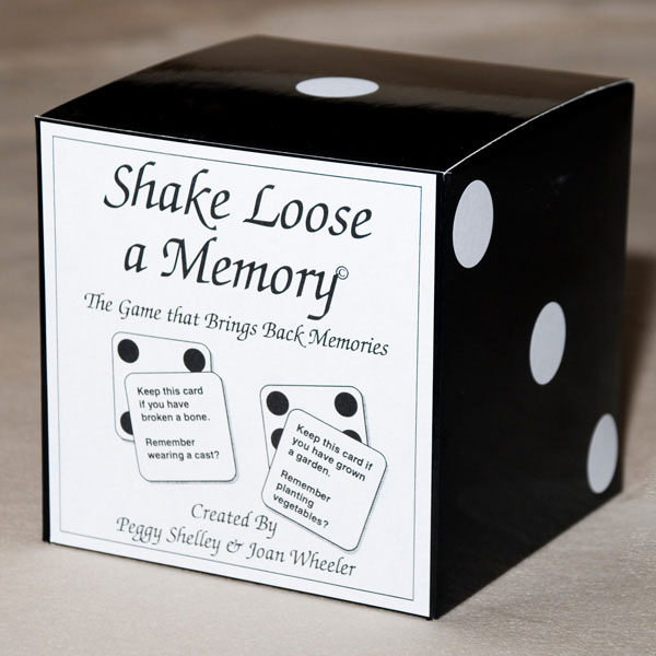 Shake Loose A Memory - reminiscence game for Alzheimer's