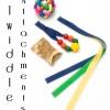 TWIDDLE CAT - CREAM-129