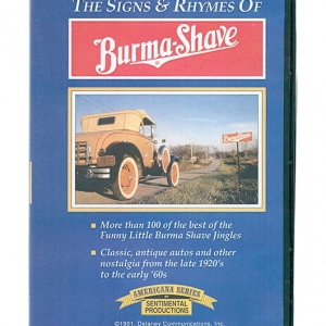 The Signs & Rhymes of Burma Shave | this simple roadside advertising idea catapulted a tiny company into the consciousness of the nation.