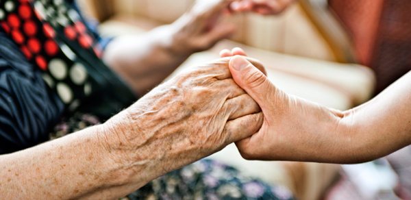Communicating with Alzheimer's   touch including hand holding can be a powerful mode of communication