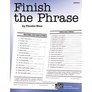 FINISH THE PHRASE-0