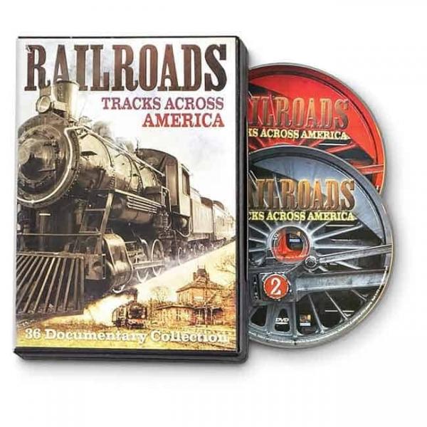 RAILROADS: TRACKS ACROSS AMERICA DVD-0