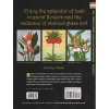 TROPICAL FLOWERS STAINED GLASS COLORING BOOK-555