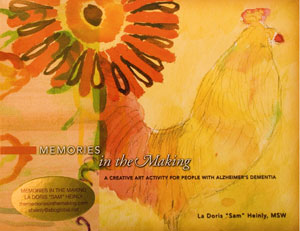 Art Therapy for Alzheimer's | Memories in the Making - A manual for creating an art therapy program for people with dementia including Alzheimer's disease