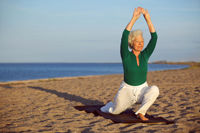 Old Age or Alzheimer's | Elderly Woman Stretching