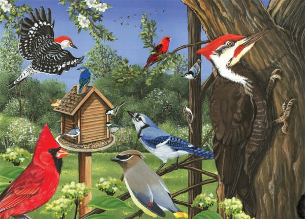 35 Piece Puzzles for Alzheimer's | Around the Birdfeeder