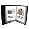 Talking Photo Album Deluxe - showing microwave instructions and medicine management