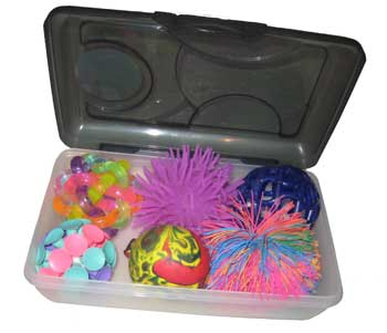 Box of Balls - sensory stimulation for dementia