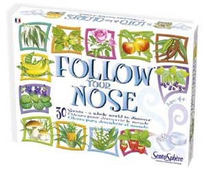 games for people with Alzheimer's | Follow Your Nose is a sensory stimulation game for dementia and Alzheimer's patients.