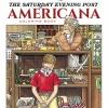 The Saturday Evening Post Americana Coloring Book