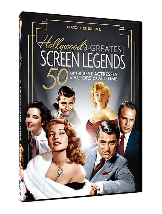 HOLLYWOOD'S GREATEST SCREEN LEGENDS-0
