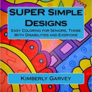 SUPER SIMPLE DESIGNS COLORING BOOK