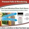 WINDOW/DOOR EXIT ALARM-1829