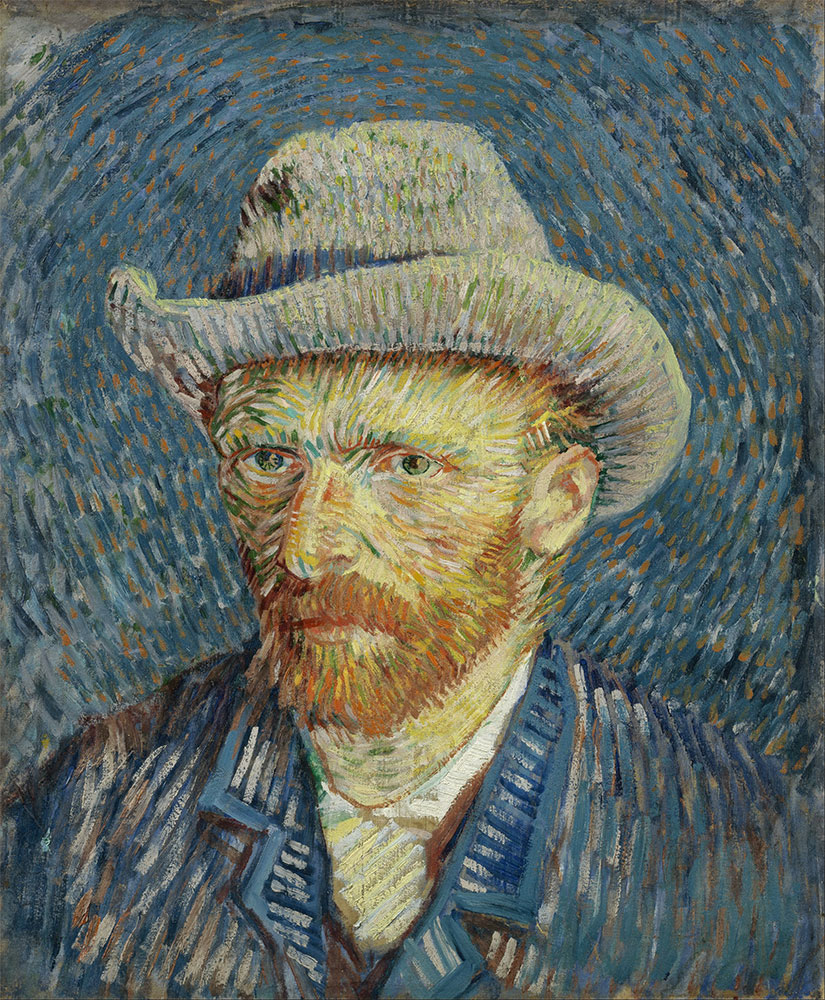 Alternative Therapy for Alzheimer's | Art therapy for Alzheimer's - van Gogh self portrait