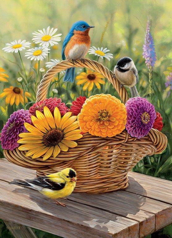 35 Piece Puzzles for Alzheimer's   Singing Around the Birdhouse