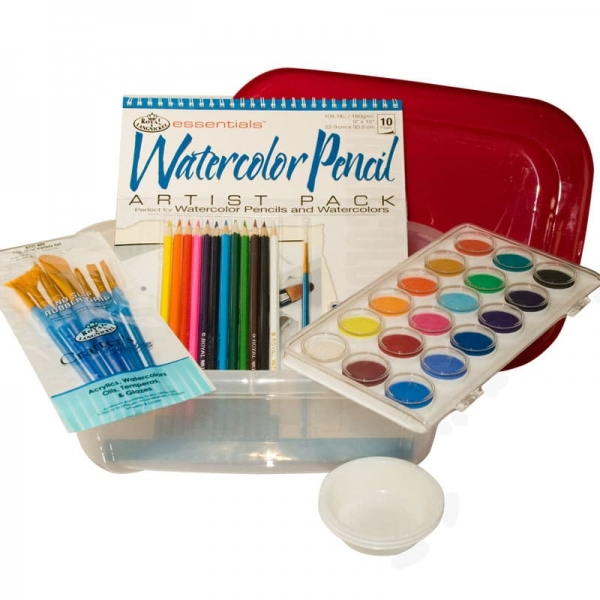 WATERCOLOR ART KIT-0