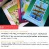 Seasonal Birds Adult Coloring Book for Seniors - back cover