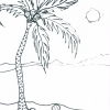Tranquility at Sea Adult Coloring Book for Seniors - sample page