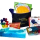 SENSORY TOTE is filled with appropriate activities for Alzheimer's patients and others with dementia
