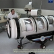Hyperbaric oxygen therapy for Alzheimer's -image showing a hyperbolic chamber