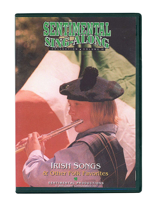 Irish Songs   a sing along dvd with onscreen lyrics