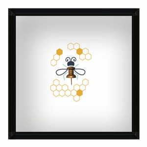 Hobby Windows - Whimsical Wall Art for Care Communities | Bee