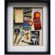 Yesterday's Windows - General Store | Memorabilia themed shadowboxes to inspire reminiscing in Alzheimer's patients.