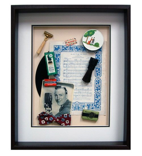 Yesterday's Windows - Grooming   Memorabilia themed shadowboxes to inspire reminiscing in dementia patients.
