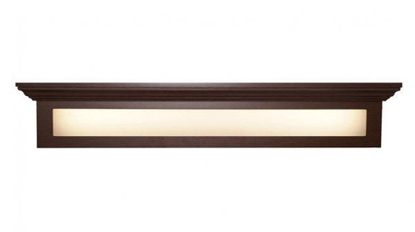 Overbed light fixture for Adult Care and Memory Care Communities   Lisome
