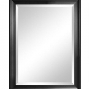 Framed mirror for care communities, facilities, and commercial application - beveled