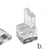 Frameless Mirror mounting clips