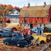 Barnyard Treasures 25 piece jigsaw puzzle for people with Alzheimer's