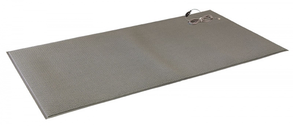 FM-05 Corded Floor Mat - Pressure applied to the mat triggers the alarm monitor