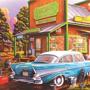 Sheila's Cafe - 35 piece jigsaw puzzle for Alzheimer's