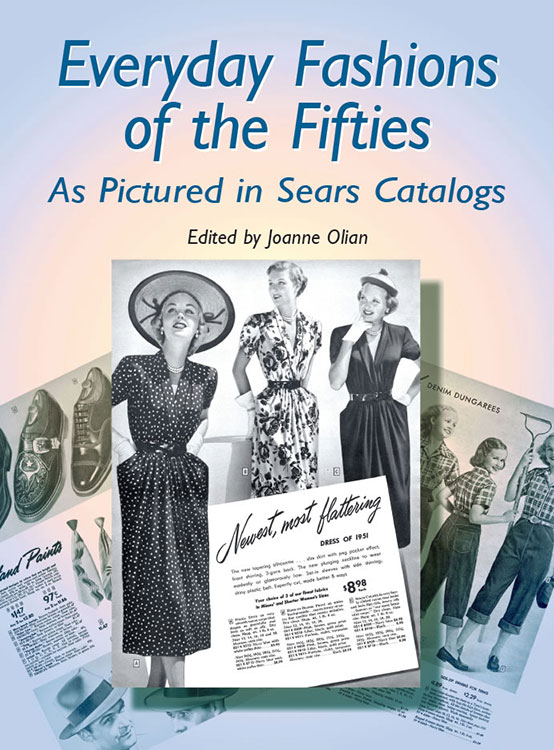 suggested books for nostalgia and reminiscing - Everyday Fashions of the Fifties