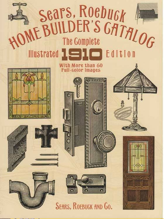 suggested books for nostalgia and reminiscing - Sears Home Builder's Catalog