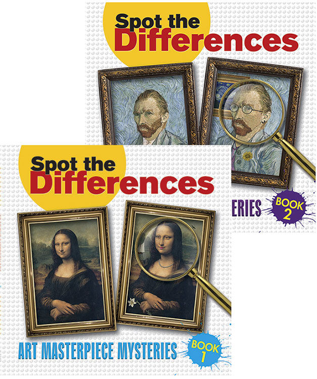 ACTIVITY BOOKS FOR DEMENTIA CARE - Spot The Differences
