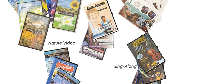 Video DVDs for professionals in the dementia care industry
