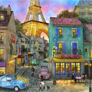 Eiffel Magic 36 piece jigsaw puzzle for dementia patients