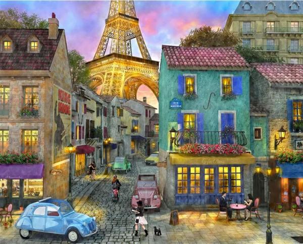 Eiffel Magic 36 piece jigsaw puzzle for dementia patients