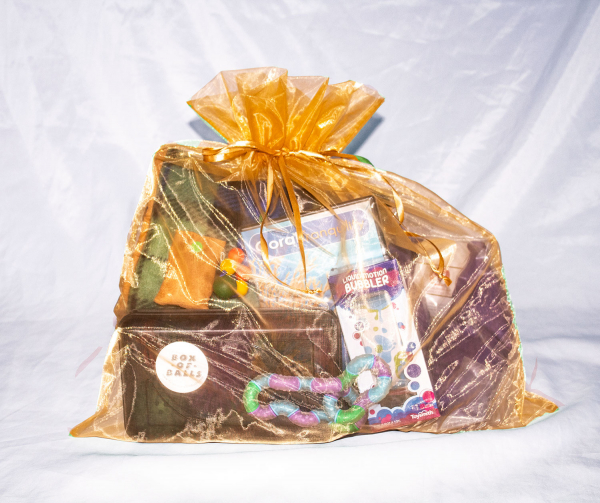 Late Stage Gift   A selection of favorite stimulating items for the person in late stage Alzheimer's
