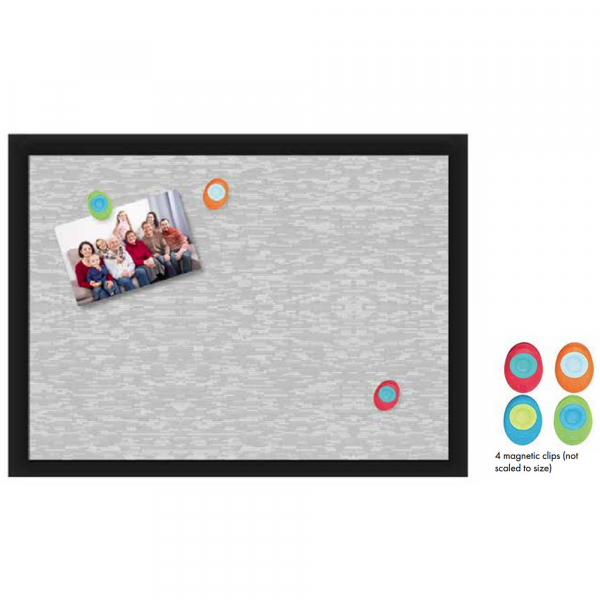 Magnetic Bulletin Boards have a magnetic surface making it a safe product for memory care patients.