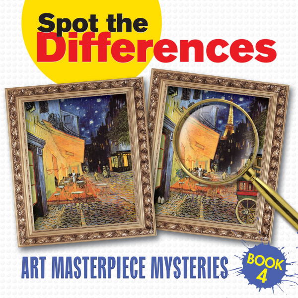 Spot the Differences Art Masterpiece Mysteries Book 4